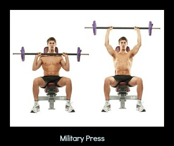 military press 300