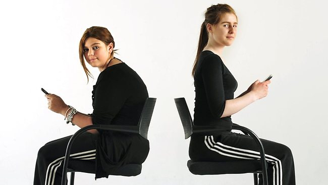 posture photo for blog post