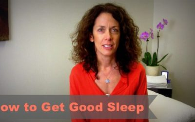 Maureen's Tips For Getting A Good Night's Sleep